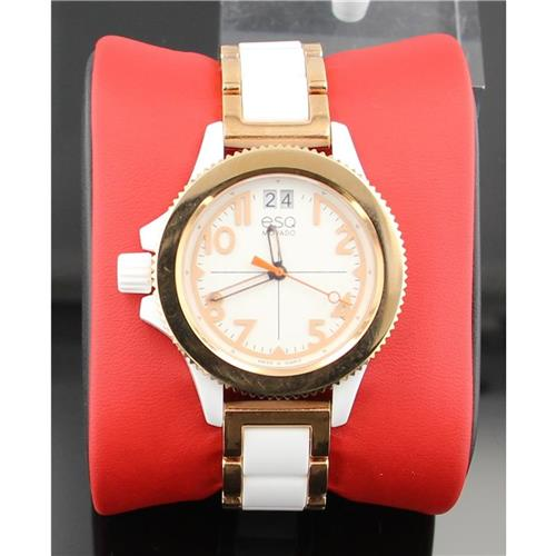Fusion Rose-Ion Plated Interchangeable Strap Watch ESQ-07101403