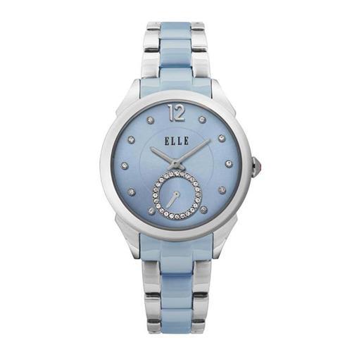 Swarovski Small Seconds Blue Watch