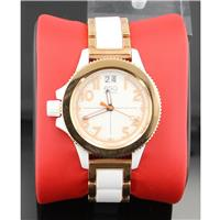 Fusion Rose-Ion Plated Interchangeable Strap Watch 07101403