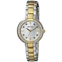 Authentic Bulova 98R172 042429501539 B00CQ7I8V8 Fine Jewelry & Watches