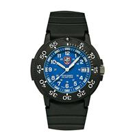 43mm Blue Dial / Black Rubber Watch A3003