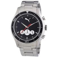 Authentic PUMA Ride Chrono Metal- L Silver N/A B00BU094X8 Fine Jewelry & Watches