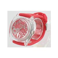 Red Men's 40003 Watch w/ Transparent Case WW02298N